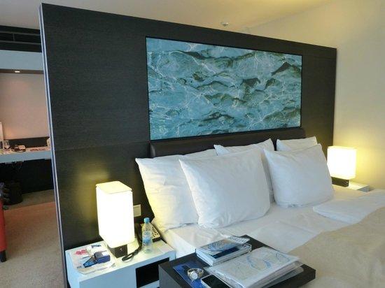Radisson Blu Hotel, Berlin: Excelente cama