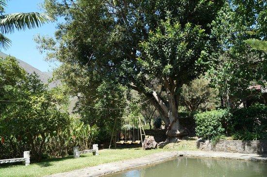 Hostal Estancia Chillo: Zona de piscinas