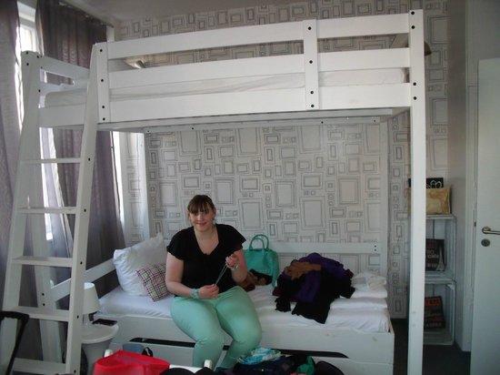 Pyjama Park Hotel und Hostel : 3-Bett-Zimmer