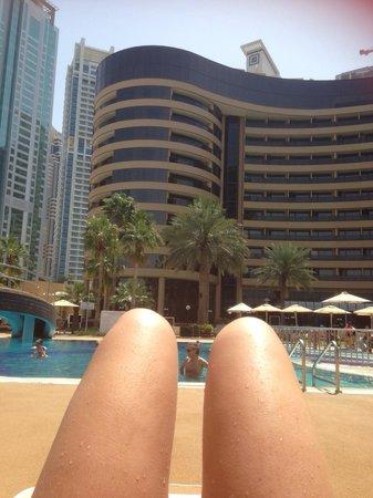 Le Royal Meridien Beach Resort & Spa : Main pool!!