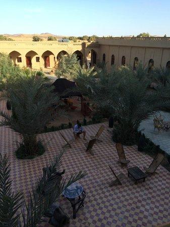 Hotel Nomad Palace: Courtyard