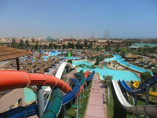 Jungle Aqua Park: Waterpark View