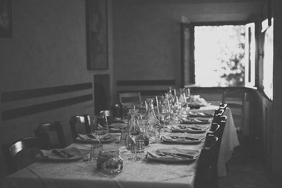 La Bottega di Giovannino: Inside table setting