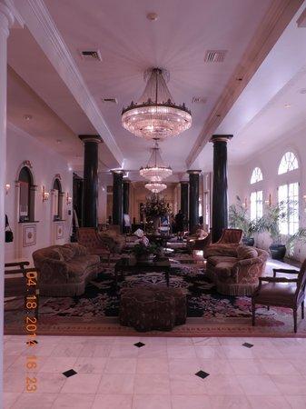 Bourbon Orleans Hotel: The lobby