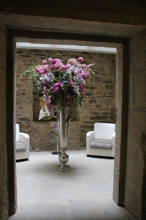 Hotel Montenegro Compostela: Um pormenor da decoração