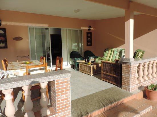 Villa Gaiarda: balcone esterno
