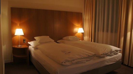 Hotel Das Triest: bed