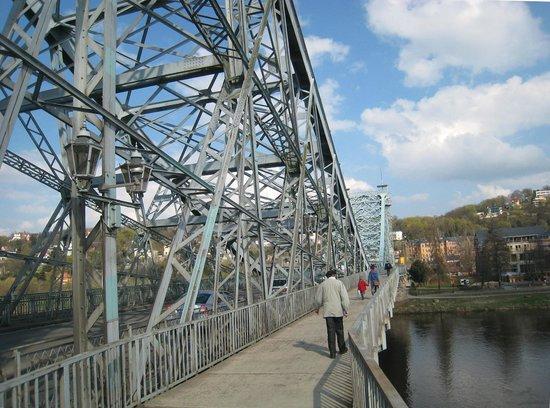 Loschwitzer Brücke (Blaues Wunder): Engineering detail