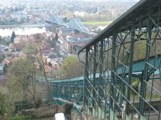 Blaues Wunder (Loschwitzer Brücke): Incorporating the suspension railway