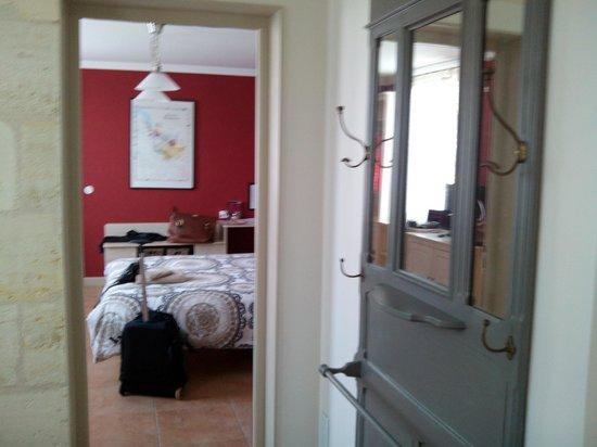 La Maison Cachee : Vista desde el vestíbulo privado