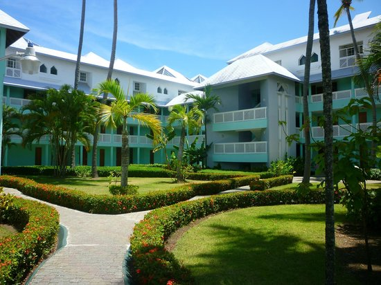 Grand Paradise Playa Dorada: Une partie de l'hotel