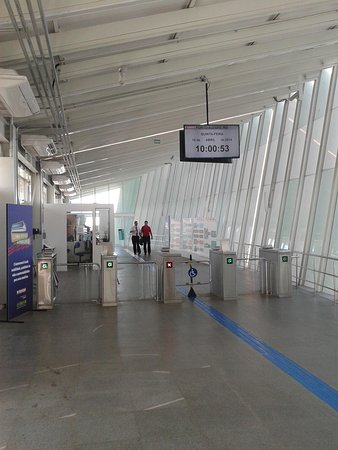 Porto Alegre Hostel Boutique: Monotrilho Aeroporto-Trensurb
