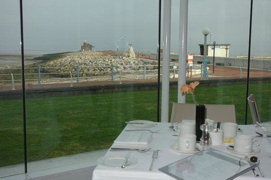 The Midland Hotel - Morecambe: The view from the restaurant