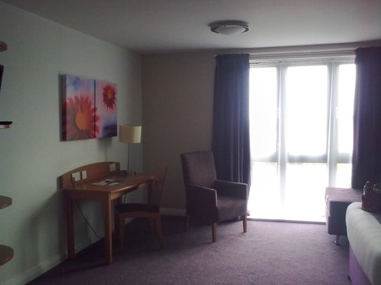 Premier Inn Torquay Hotel: Half of our room!