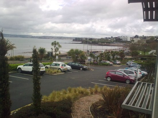 Premier Inn Torquay Hotel: View from our window.