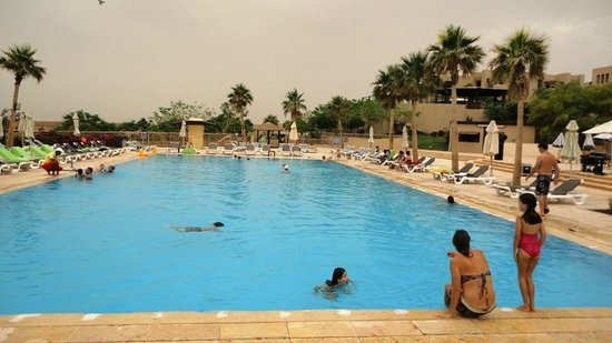 Holiday Inn Resort Dead Sea: One of the many pools at the resort