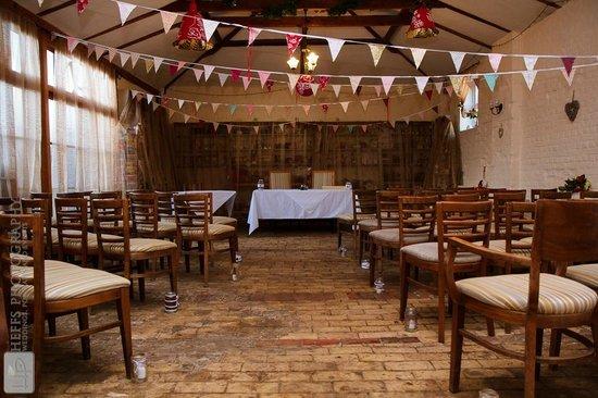 Thornham Coach House: Ceremony room