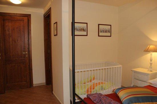 Casale di Tormaggiore: suite 3 camera matrimoniale con bagno piano terra