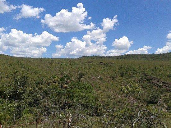 Abade Waterfall: Vista da trilha