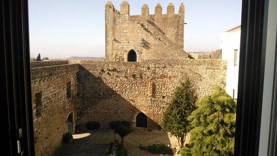 Pousada do Castelo de Obidos : Vista da  suite que ficamos hospedados
