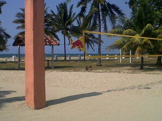 Cancha De Volleyball Fotografía De Banana Beach Resort Trujillo