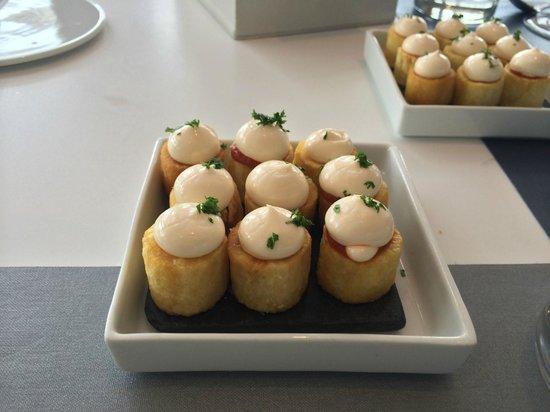 Restaurante Arola: patatas bravas
