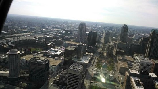 Gateway Arch : Beautiful view from the top of the Arch! It's an amazing site.