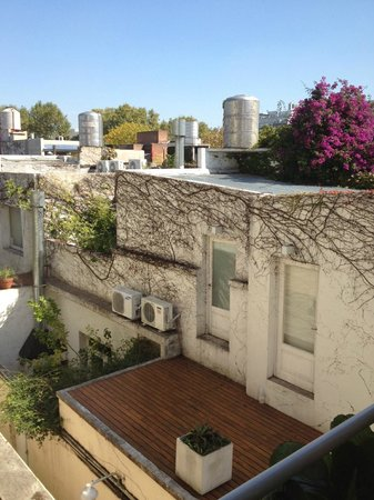 Home Hotel Buenos Aires: View from room