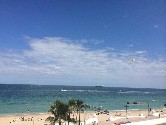W Fort Lauderdale: Room View 15th floor