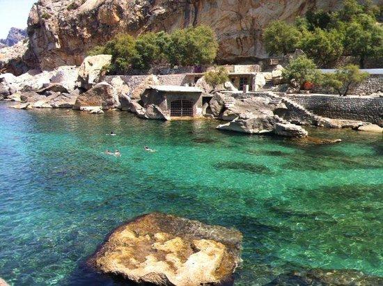 Hostal Los Pinos: The bay under the hostel