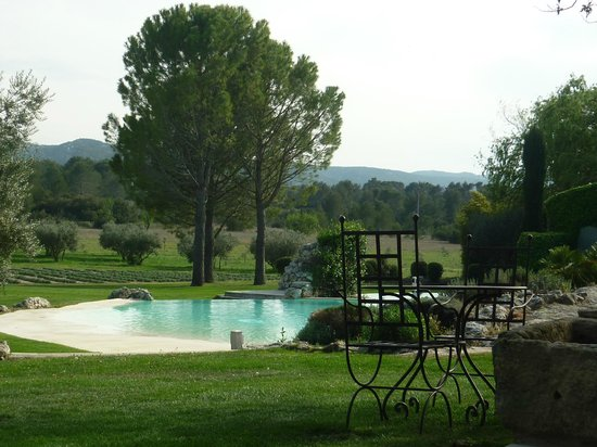 Le Mas De La Rose : La piscine