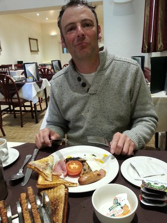 Wight Montrene Hotel: The breakfast