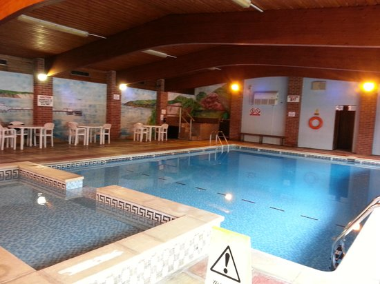 The Wight: heated pool