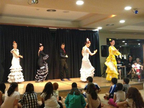 Ohtels Vil.la Romana : spectacle flamenco