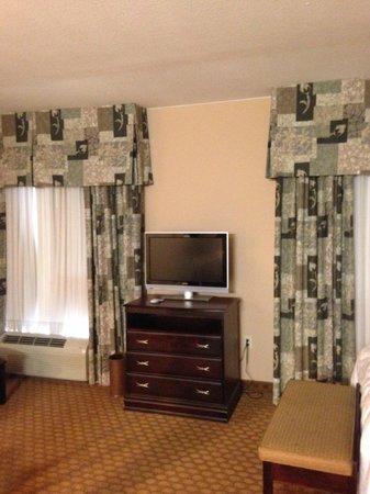Hampton Inn & Suites Houston-Rosenberg: TV Too Small
