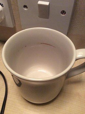 Cobden Hotel Birmingham: tea cup