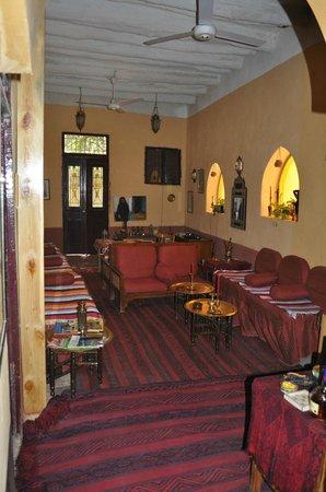 La Maison de Pythagore: la salle de détente