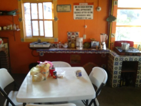 Casa Bertha: Cocina comunitaria