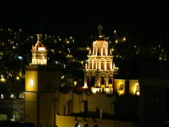 Hostal Casa Bertha: Catedral vista desde la terraza