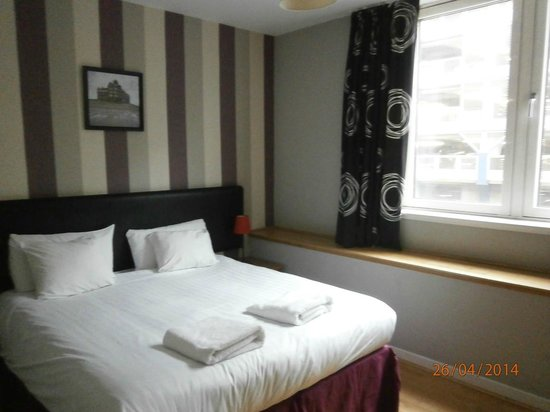 Glasgow Central Apartments: Bedroom