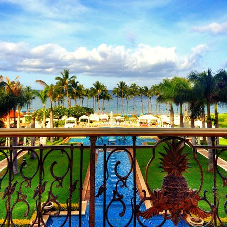 Grand Wailea - A Waldorf Astoria Resort: View from buffett breakfast (every morning!)