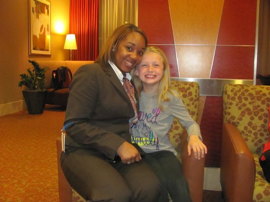 Sheraton Atlanta Hotel: Alexis Johnson & Bryn