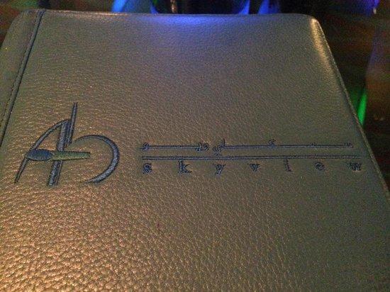 Skyview Bar: Here we go...