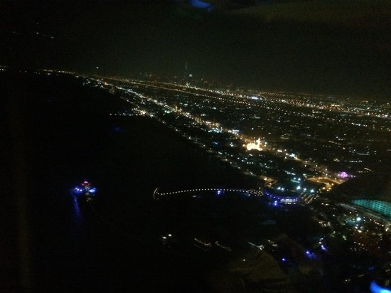 Skyview Bar: Dubai in night from a very special place