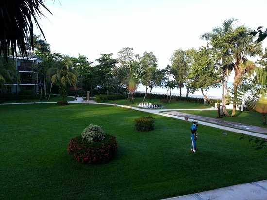 Beaches Negril Resort & Spa: view from our balcony, room 813