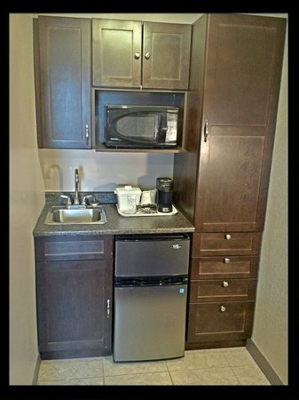 Saskatoon Thriftlodge: Kitchenette