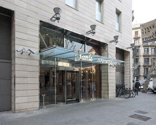 Sansi Diputacio Hotel : Vista ingresso