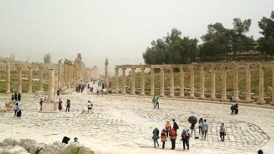 Ruinen von Gerasa: Jerash Ruins