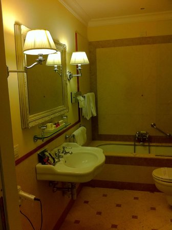 Hotel Executive Florence : Baño