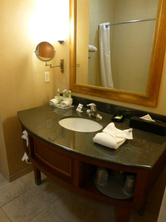 Holiday Inn Express & Suites Auburn Hills : Bathroom
